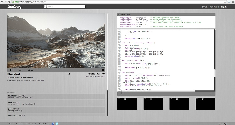 Shadertoy - The Online Shader Editor